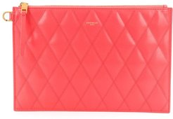 small GV3 quilted pouch - PINK