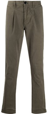 tapered chinos - Grey
