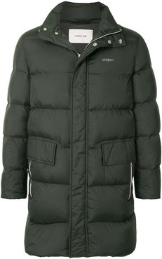 classic padded jacket - Green