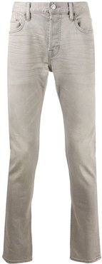 mid-rise slim fit jeans - Grey