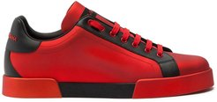 Portofino low-top sneakers - Red