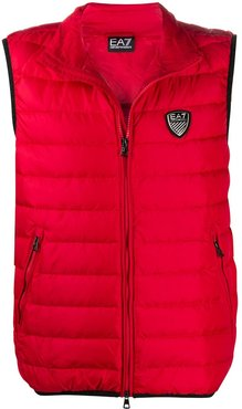 logo patch gilet - Red