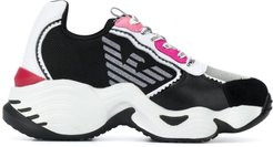 chunky sole trainers - PINK