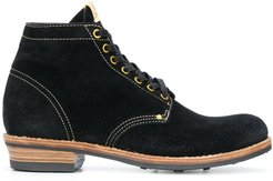 ankle lace-up boots - Black