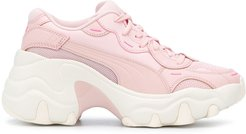 chunky sole sneakers - PINK