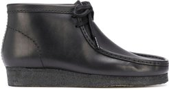 Wallabee lace-up desert boots - Black