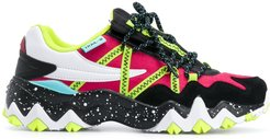 Trail-R lace-up sneakers - Black