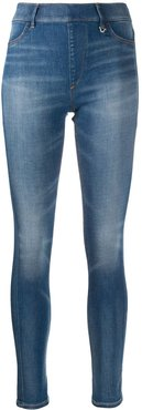 mid rise skinny jeans - Blue