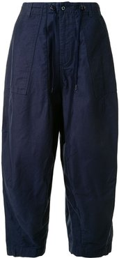 loose fit trousers - Blue