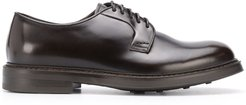 lace-up leather shoes - Brown