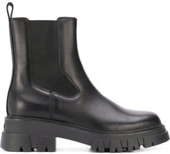 Lloyd leather ankle boots - Black