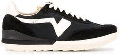 Runner panelled sneakers - Black