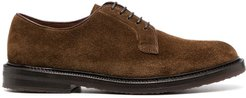 lace-up derby shoes - Brown