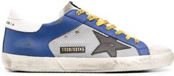 Superstar panelled sneakers - Blue