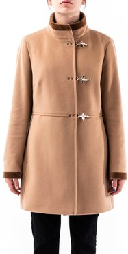 Virgin Wool And Cashmere Blend Coat