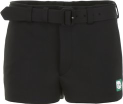 Shorts With Logo Patch