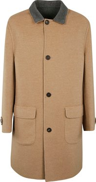 Reversible Buttoned Coat