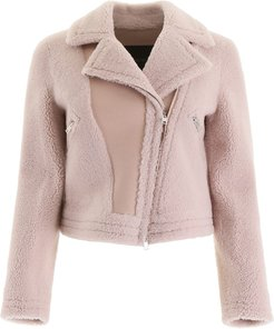 Shearling Biker Jacket