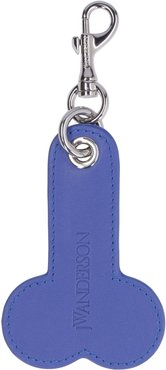 Two-tone Leather Keyring