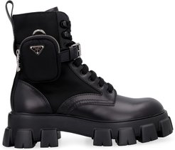 Monolith Leather Lace-up Boots