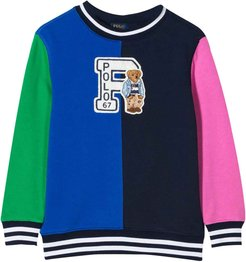 Multicolor Sweatshirt With Application