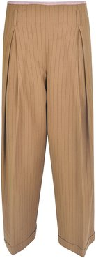 Straight-leg Striped Trousers
