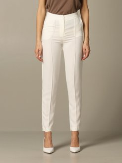 Armani Exchange Pants Armani Exchange High-waisted Crêpe Trousers