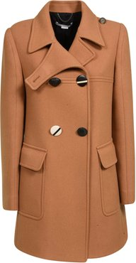 Double-Breasted Short Length Coat
