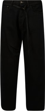 Loose Fit Straight Jeans