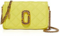 The Status Flap Quilted Leather Shoulder Bag