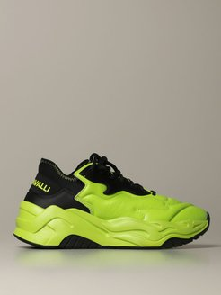 Sneakers P1thon Just Cavalli Sneakers In Leather And Neoprene