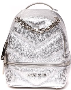 Beverly Silver Backpack