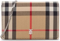 Jessie Mini Vintage Check Chain Wallet