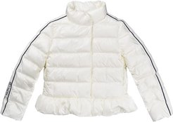 Laurier Feather Jacket Without Ivory Hood
