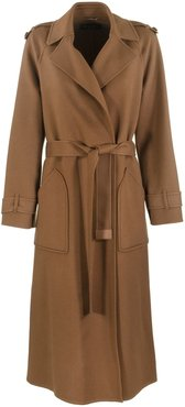Kaelan Burned Cashmere Coat