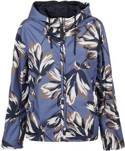 Patterned Technical Fabric Jacket