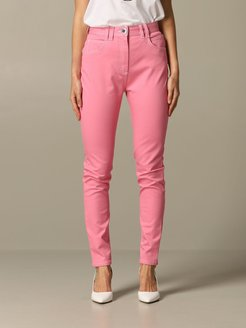 Pants Balmain Trousers With High Waist With Logo