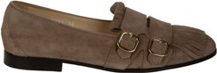Double Buckle Loafers
