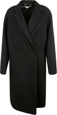 Two-button Double-breasted Coat