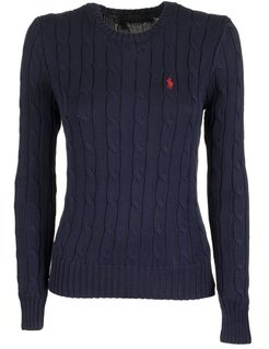 Slim Fit Cable-knit Jumper