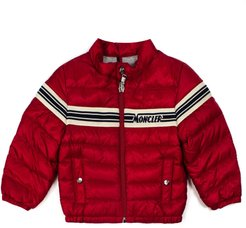 Red Feather Down Padded Jacket