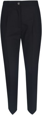 Wide Buttoned Trousers