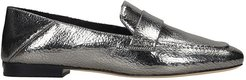 Emery Loafers In Silver Leather