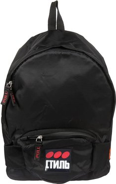 Classic Logo Patch Backpack