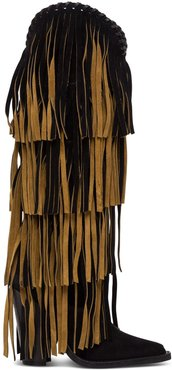 Camperos Suede With Fringes