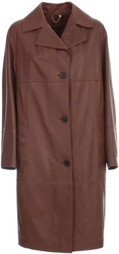 1972 Lux Plonge Leather Trench