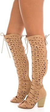 Webber-24 Hi Knee High Lace-Up Boot