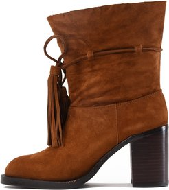 Jeffrey Campbell for Women: Laforge Tan Suede Heel Boot
