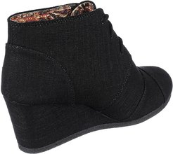 Lace-Up Wedge Bootie Rex-S