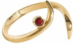Sohrab Birthstone Ring 18K Yellow Gold Size: 6.5 by AHAlife